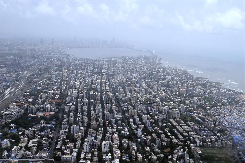 Mumbai de cima