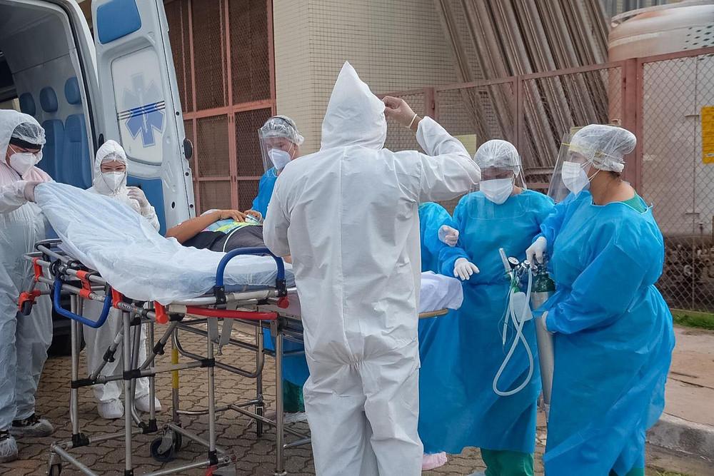 Paciente de Covid no Pará