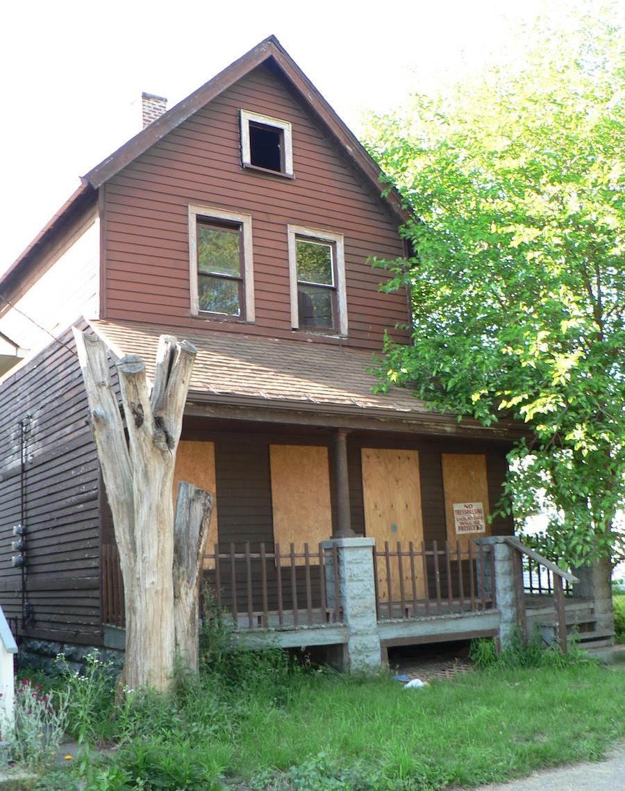 Casa fantasma em Cleveland