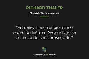 Frases sobre inércia de Richard Thaler