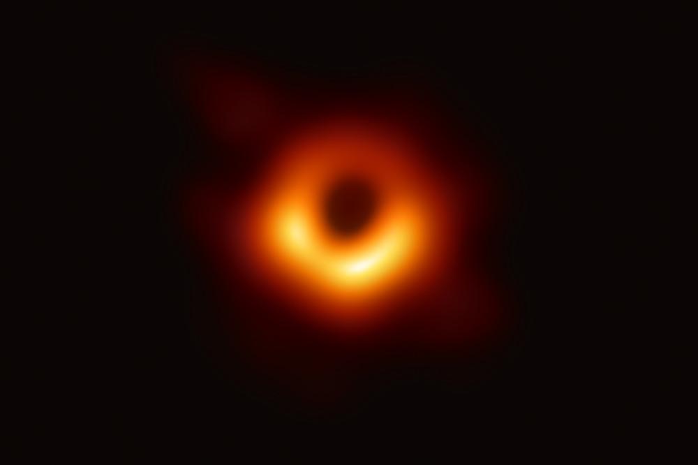 Buraco negro na Constelação  de Virgem