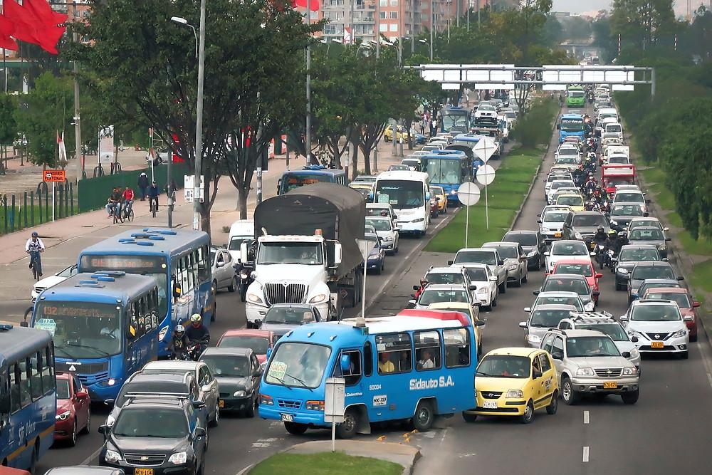 Congestinamento de Bogotá