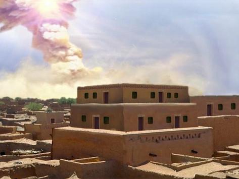Asteroide fulminou uma cidade 3.600 anos atrás