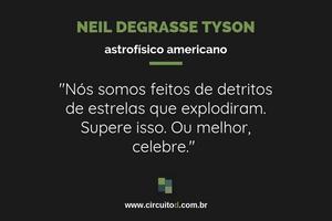 Frase sobre humanidade de Neil Degrasse Tyson
