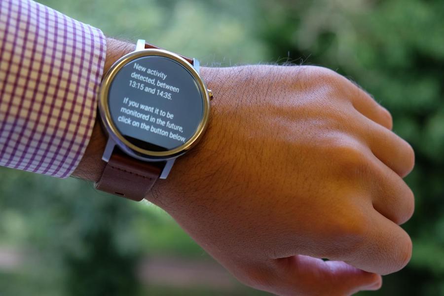 Relógio inteligente da Universidade de Sussex
