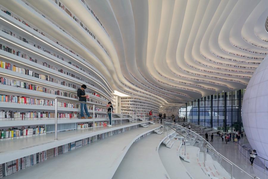 Bibliotca de Tianjin