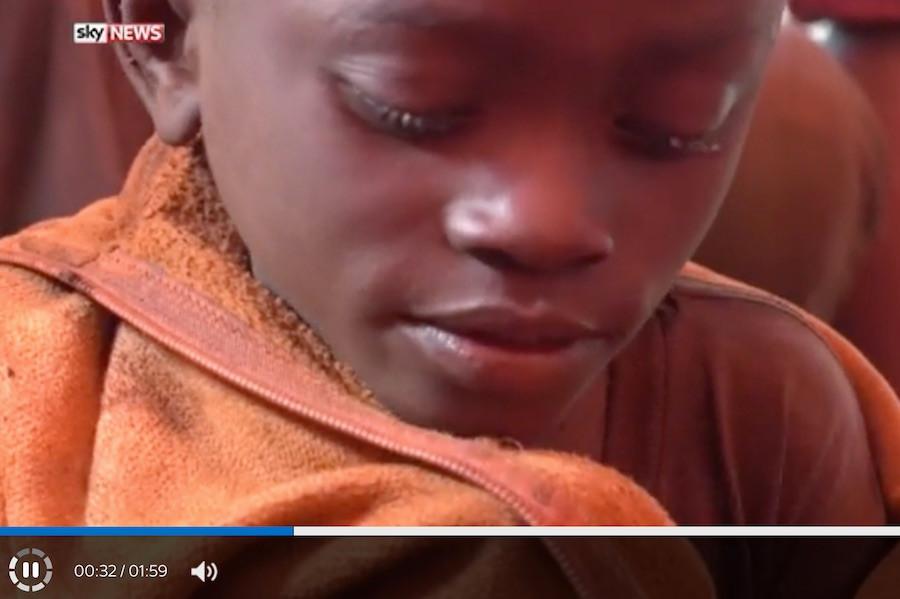 Criança no Congo