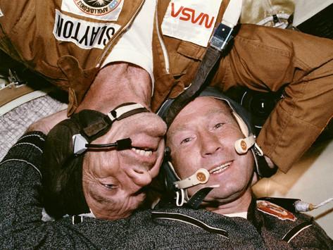 Alexei Leonov, o primeiro homem a andar no espaço (1934- 2019)