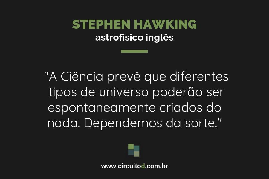 Frases sobre futuro de Stephen Hawking