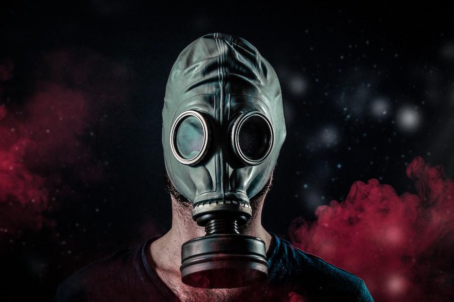 Máscara para gases