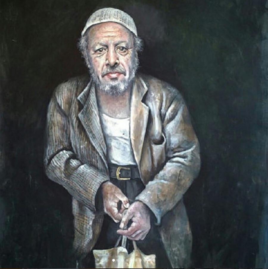 Pintura de Recep Erdogan