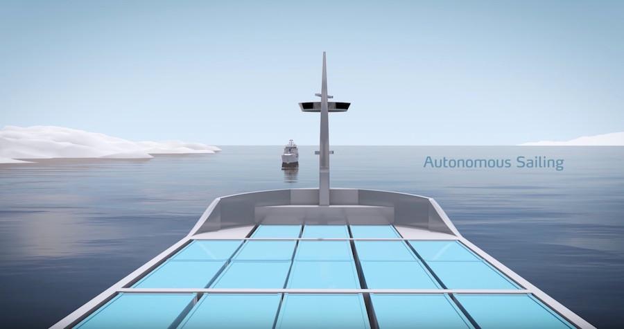 Projeto de navio autônomo Yara Birkeland