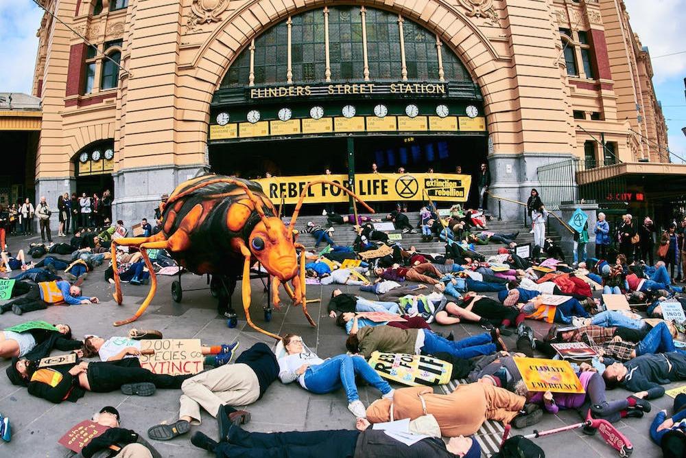 Rebelião da Extinção em Melbourne