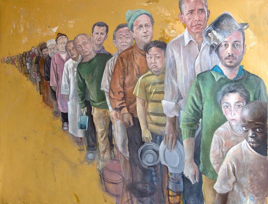 Pintura de Abdalla Al Omari