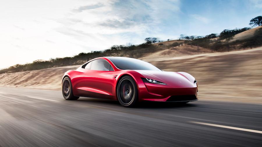 Projeto da segunda geração do Roadster, da Tesla
