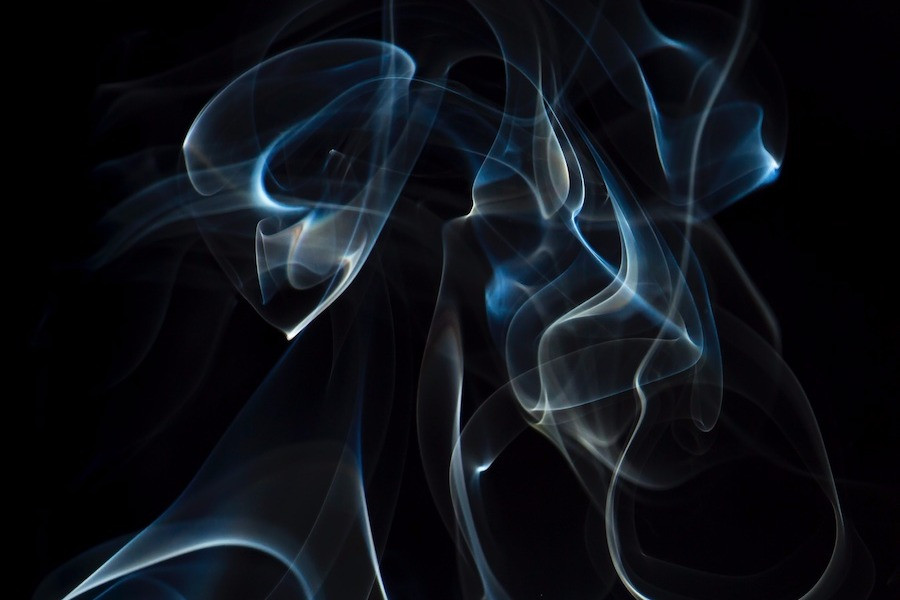 Fumaça de incenso