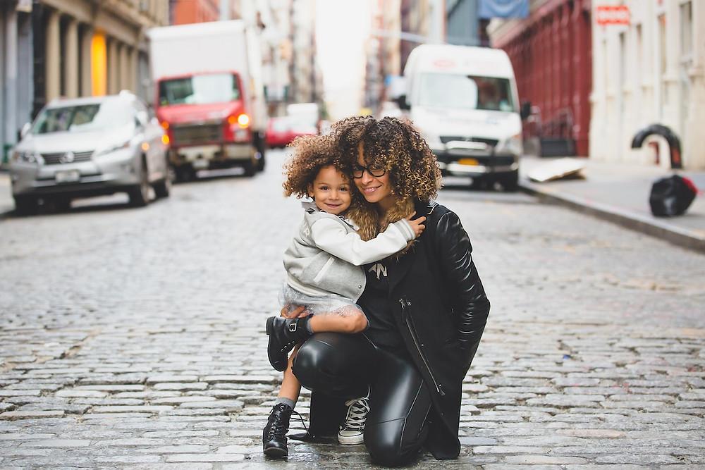 Mulher e criança