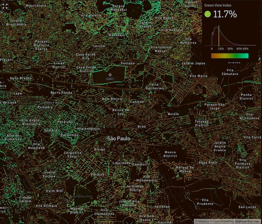 São Paulo na Treepedia online