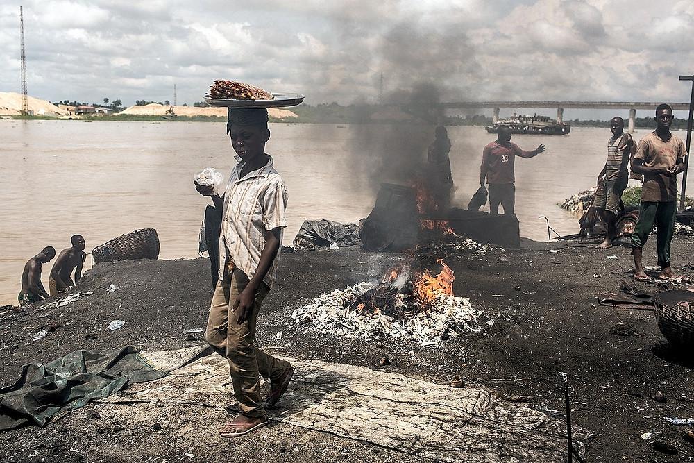Criança nigeriana
