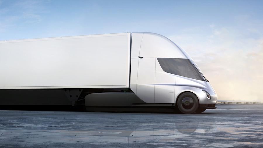 Caminhão Semi, da Tesla