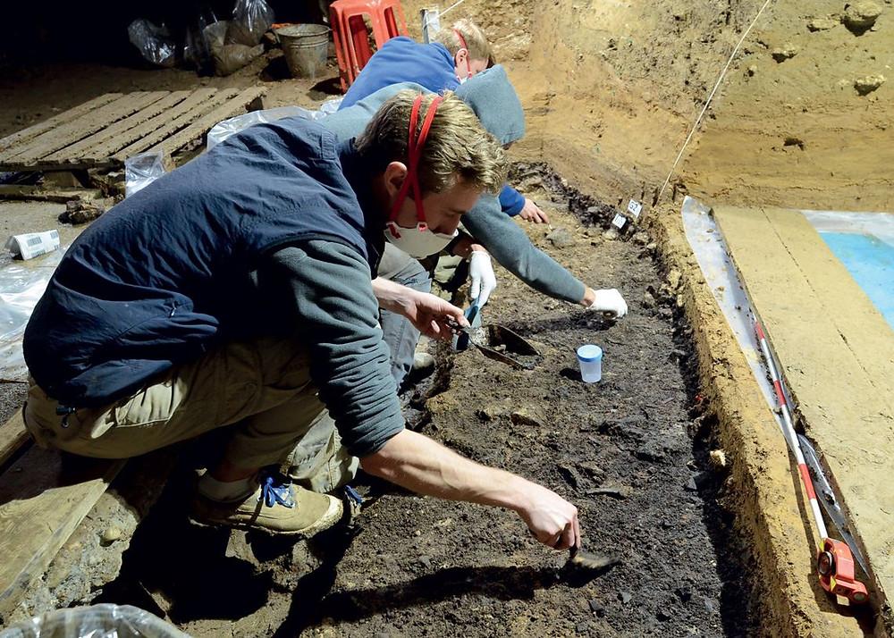 Escavação na Bulgária