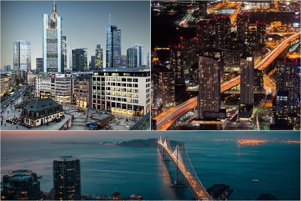 Frankfurt, Toronto e San Francisco