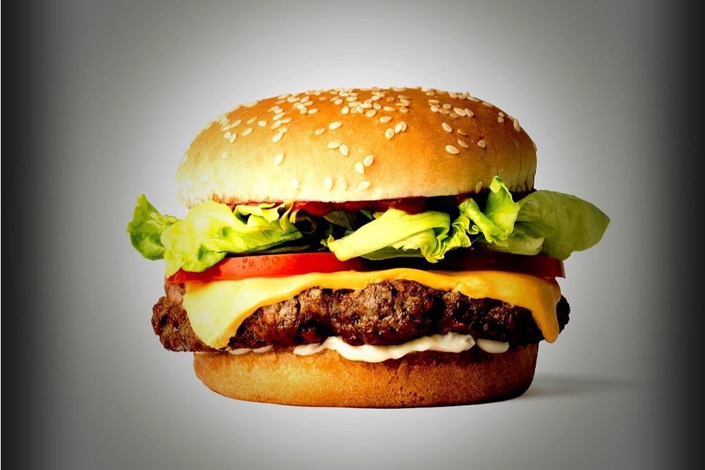 Hambúrguer vegetariano da Impossible Burguer