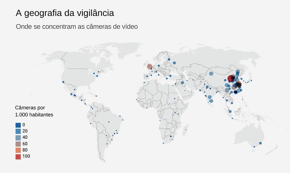 Mapa da vigilância