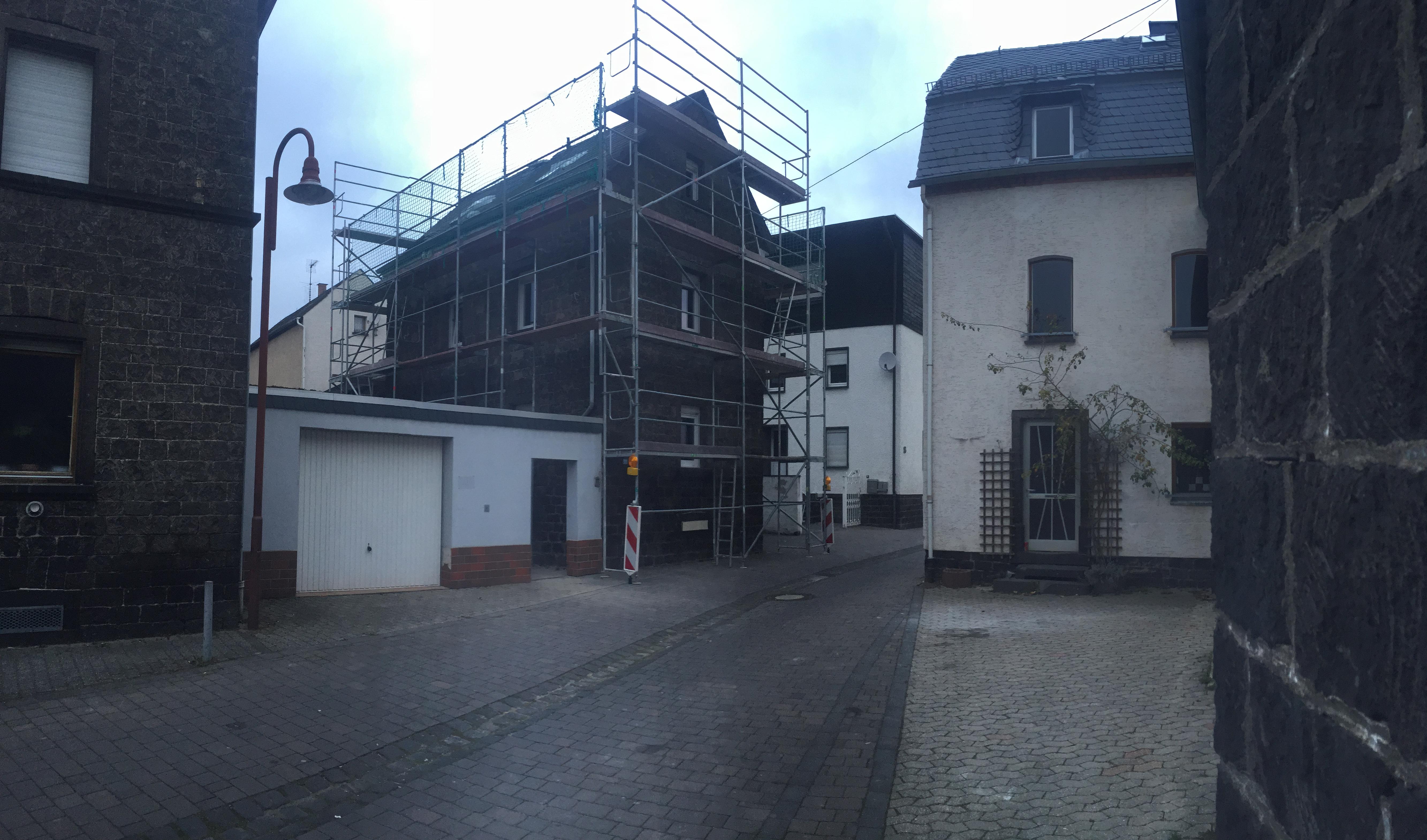 Sanierung Genovevastrasse Kottenheim