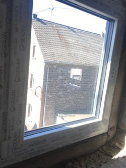 Fenster innen weiß