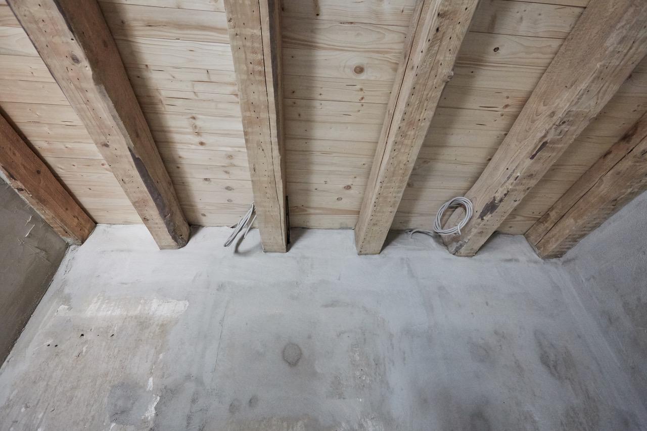 Vorverputze Deckenübergänge