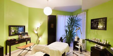 Behandlungsbereich Kosmetikstudio Fußpflege k-kultur Kathi Grudnick Koblenz