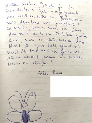 Gästebuch Rotes Bienenhaus