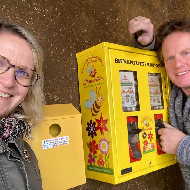 Bienensaatgut-Automat