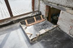 Aussparung vom Treppenhaus