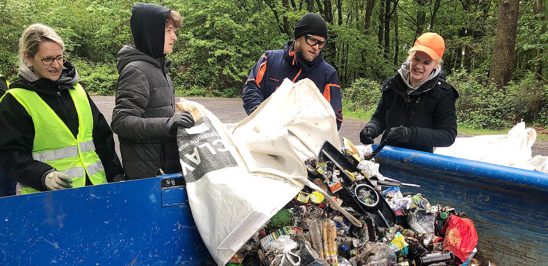 Aktion Saubere Landschaft wir für kottenheim