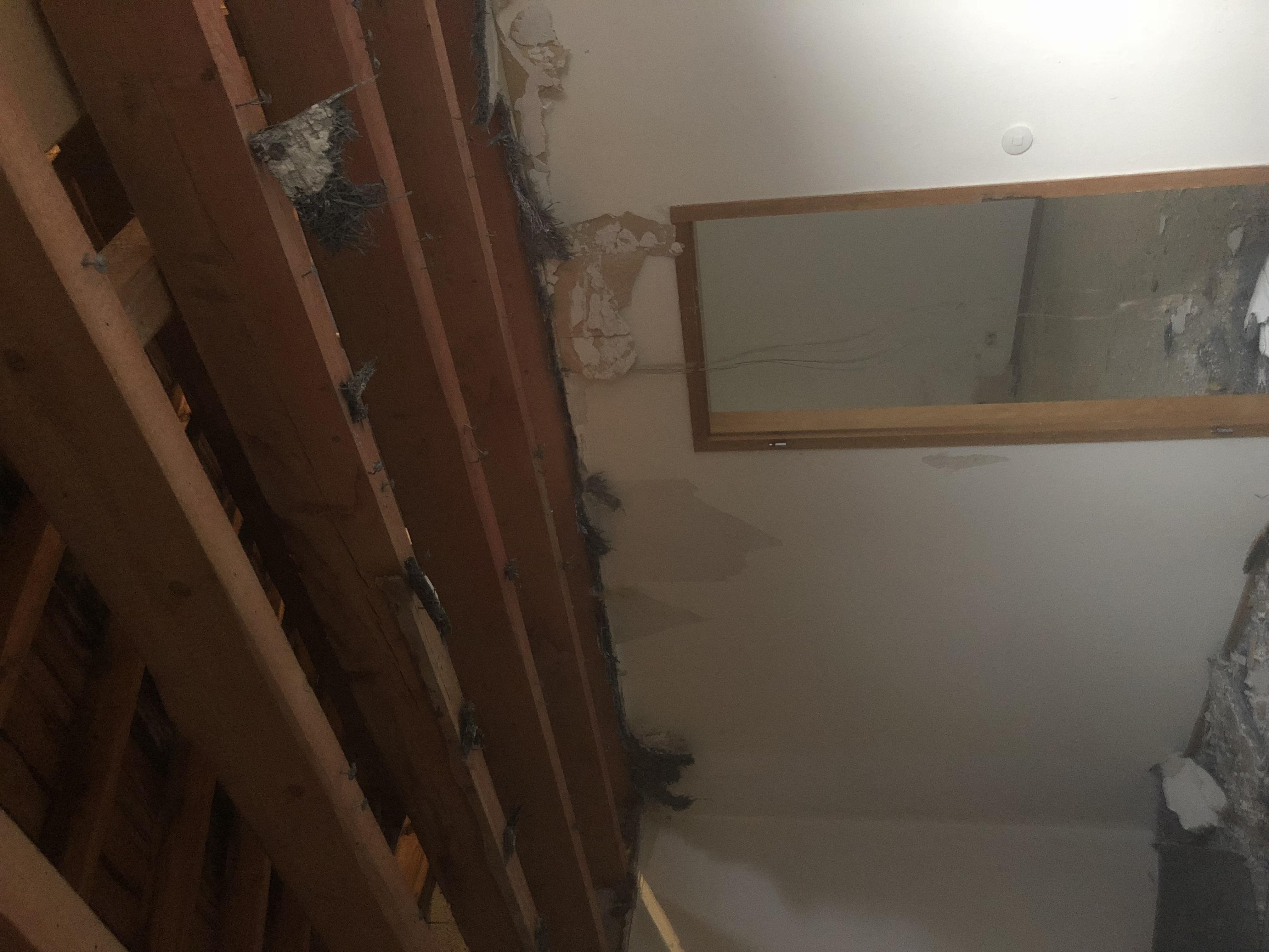 Blick zum Dachstuhl