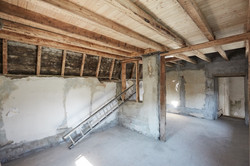 Dachgeschoß vorverputzt
