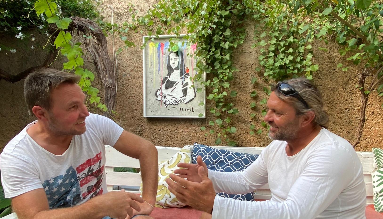Ingo Linz und Pierre Lorenz Maler Ingo Linz o.znil