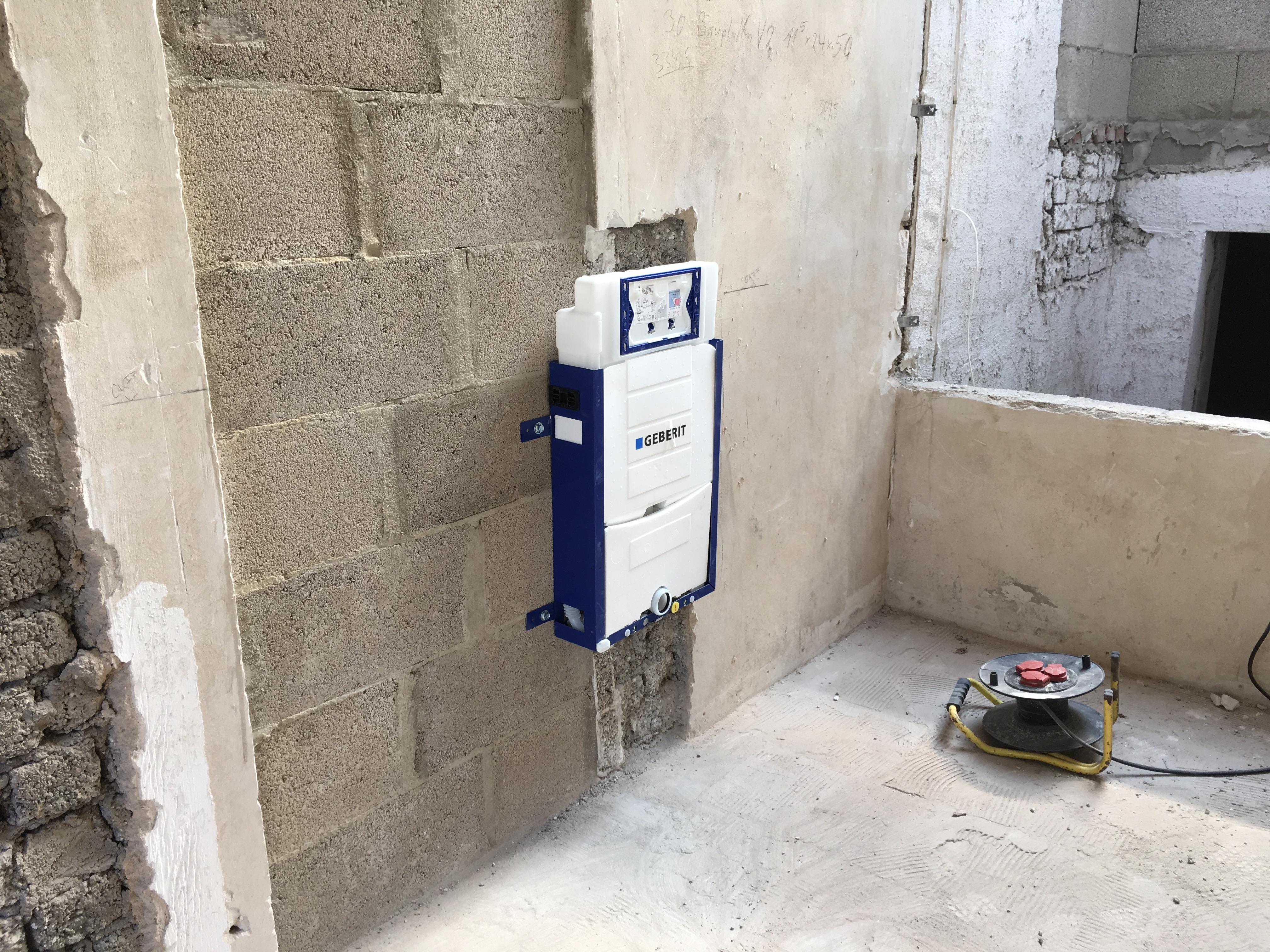 WC Wohnung 2