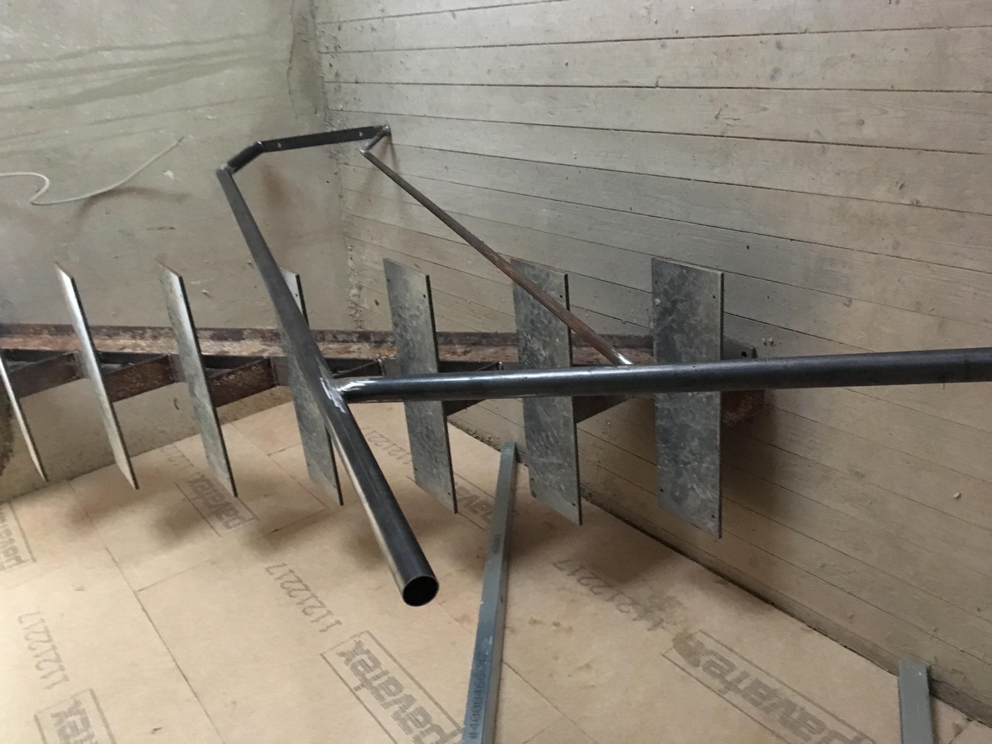 Stahlrohr Handlauf