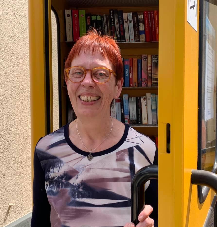 Bücherpatin Gertrud Otto