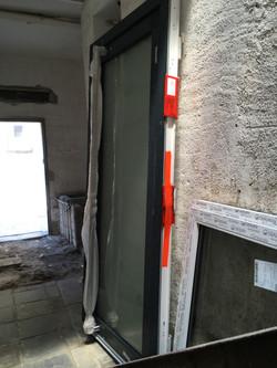 Haustür mit Glas
