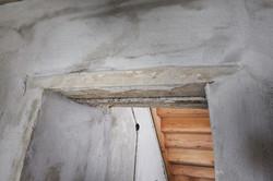 Alte Stürze aus Holz