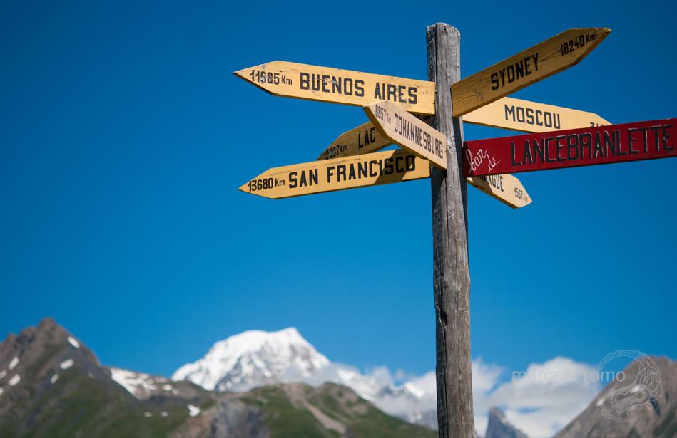 Col de Saint Bernard, France