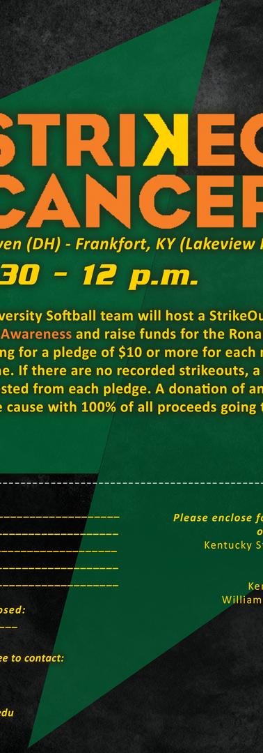 Strike Out Cancer Documentation