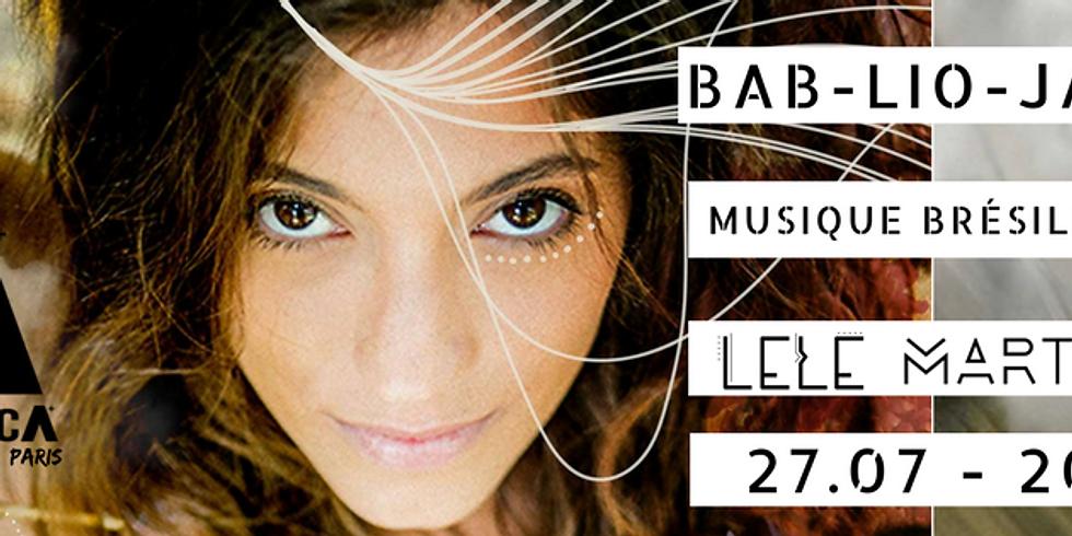 Lele Martino et Emiliah Lins - Bab-ilo Jazz Paris