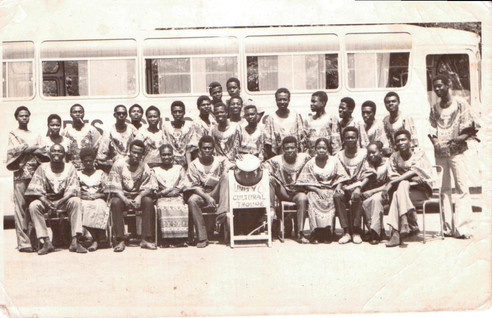Family in Accra