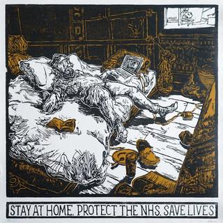 Stefan Tiburcio- Coronavirus, Stay at Ho