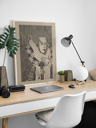 Picture Frame on Desk Mockup.png